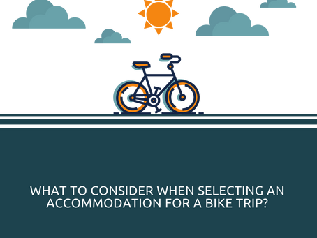 Do cyclists have any specific need that may be different than any other traveller?