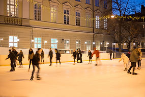 Patinage sur glace en plein air