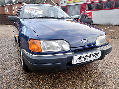 FORD SIERRA 1.6L  1988/E only 11,000miles from new