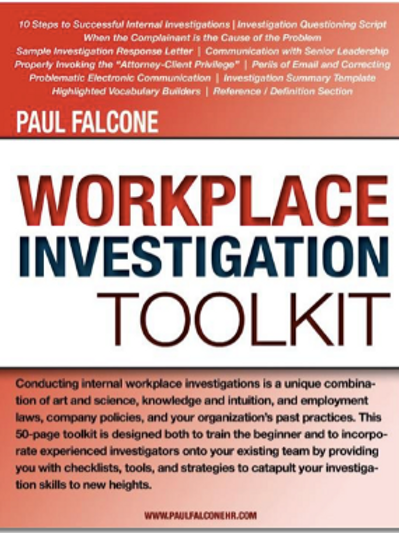 Workplace Investigation Toolkit