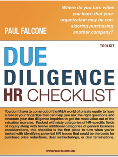 Due Diligence Human Resources Checklist