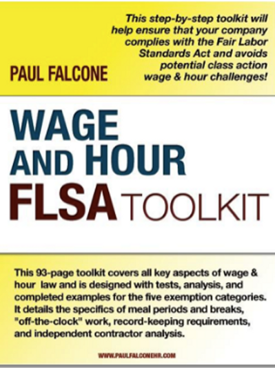 Wage and Hour FLSA Toolkit