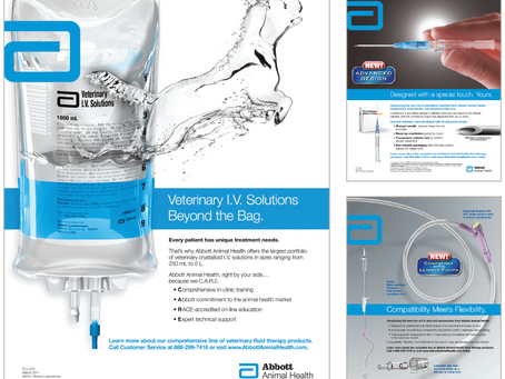 Launching the First Veterinary-specific Line of Fluid Therapy Products.
