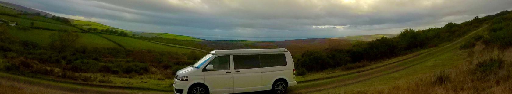 VW Campervan Hire Mountain
