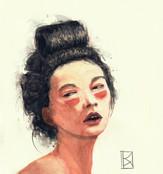 Porträt asiatische Frau