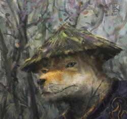 shibu inu warrior
