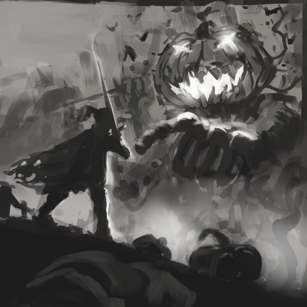 Pumpkin Lord sketch