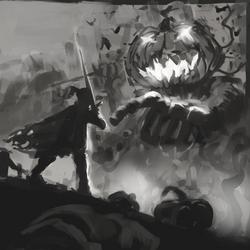 Pumpkin Lord sketch