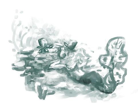 Mermaid mono