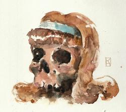 skull beauty queen
