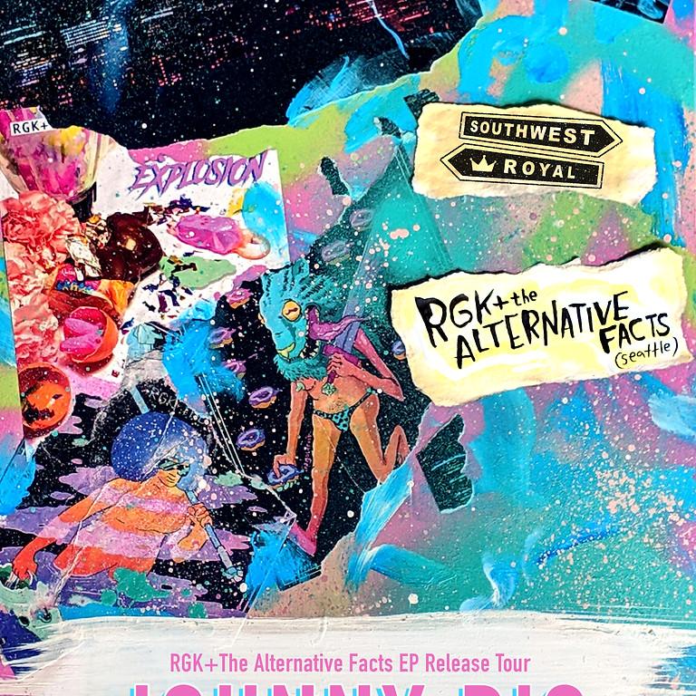 RGK+ The Alternative Facts w/ Southwest Royal @ Johnny B's, Medford Oregon