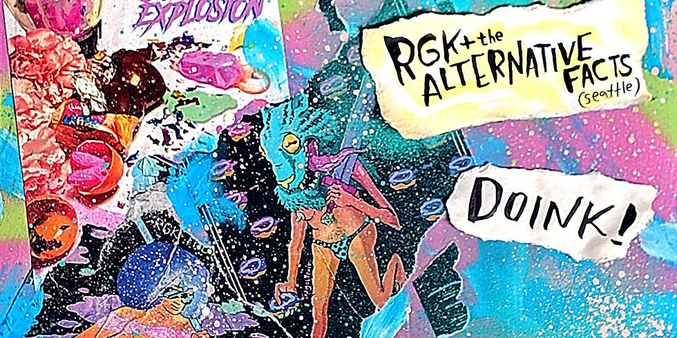 RGK+ The Alternative Facts w/ Doink! / Smear @ Blairally Arcade, Eugene Oregon