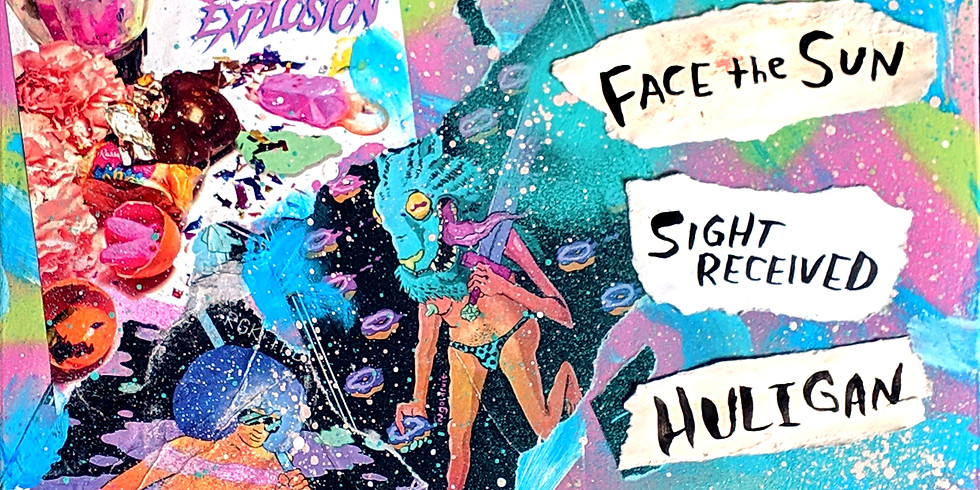 RGK+ The Alternative Facts w/ Face The Sun, Sight Received, Huligan @ Le Voyeur, Olympia WA
