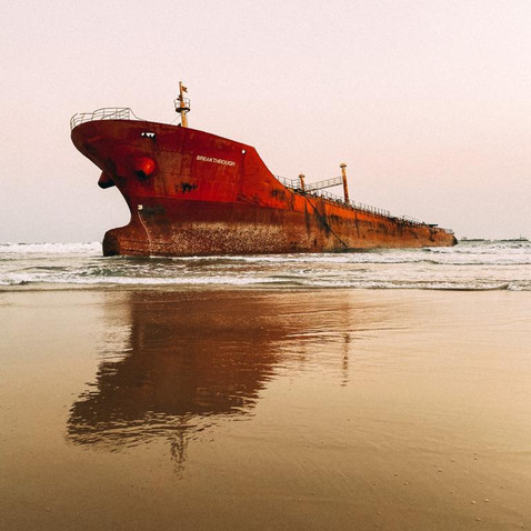Check Out The Shipwreck