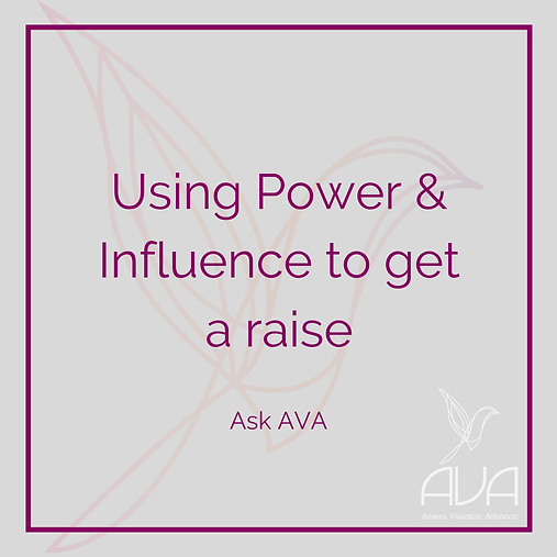 Using Power and Influence To Negotiate A Raise
