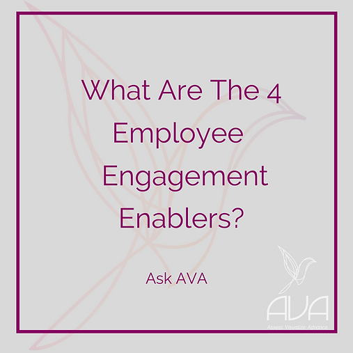 What Are The 4 Employee Engagement Enablers?