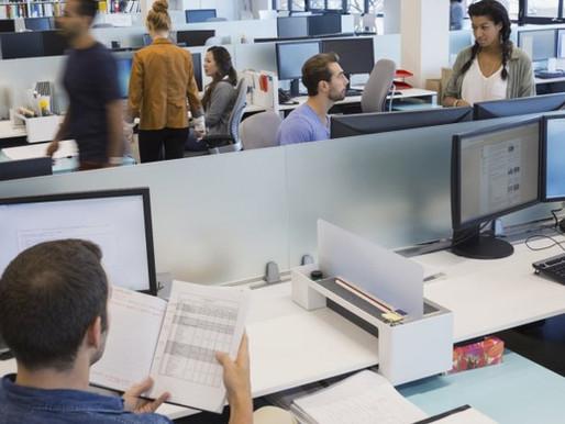 När och varför behöver man vara på kontoret?