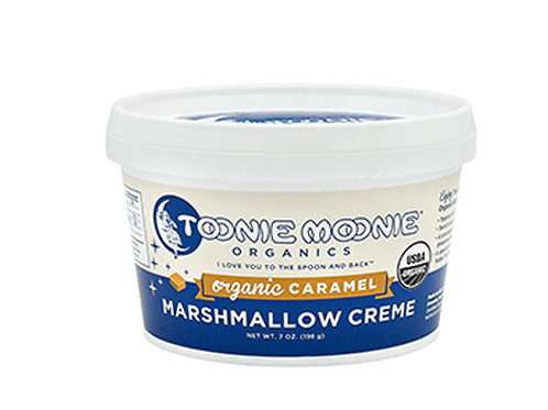 TOONIE MOONIE ORGANICS Organic Caramel Marshmallow Creme, 7oz