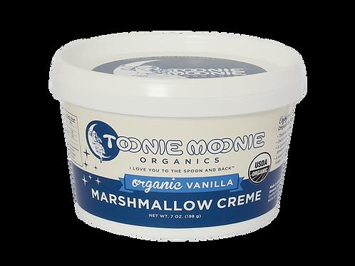 TOONIE MOONIE ORGANICS Organic Vanilla Marshmallow Creme, 7 oz