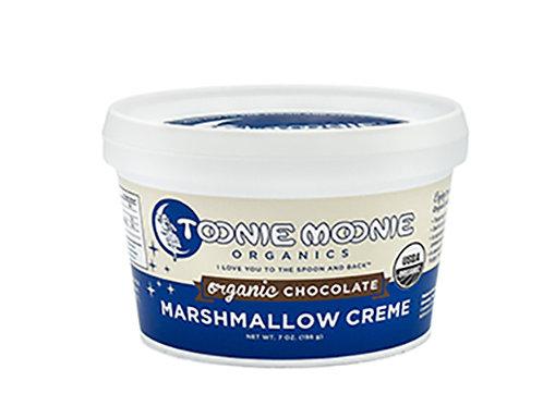 TOONIE MOONIE ORGANICS Organic Chocolate Marshmallow Creme,  7 oz