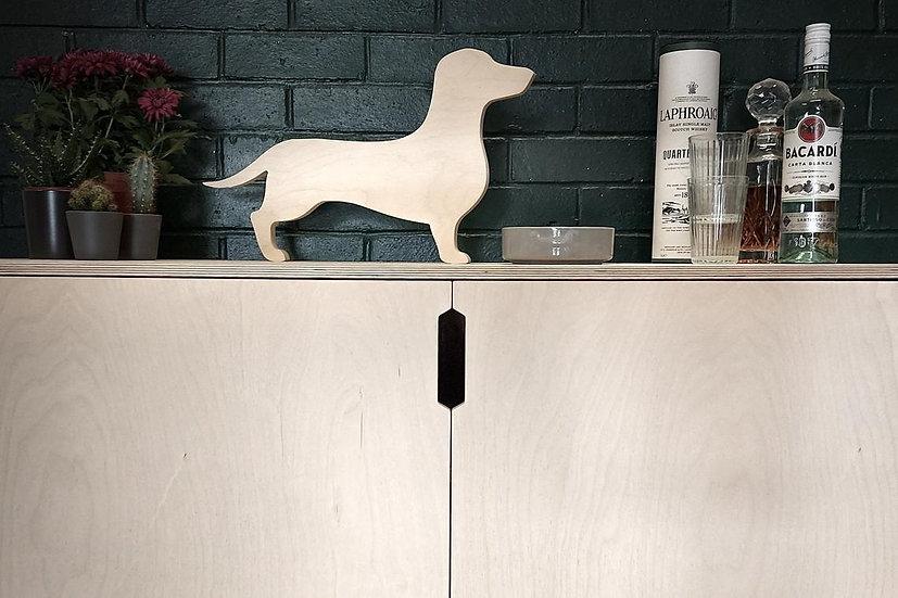 Opie the Dachshund / Sausage Dog tea light holder