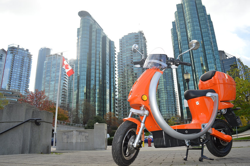 Saturna Green Systems Electric Scooter Sharing