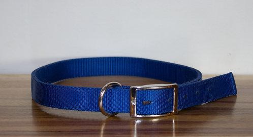 Collier bleu royal nylon X-Large