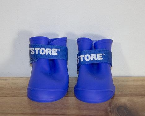 PETSTORE- Bottes bleues caoutchouc