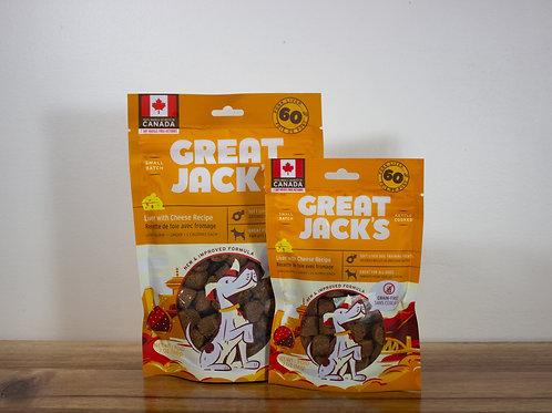 CANADIAN JERKY- Great Jack's gâteries sans grains