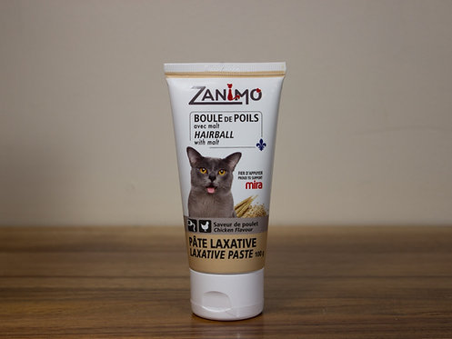 ZANIMO- Pâte laxative: boule de poils