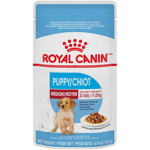 ROYAL CANIN- Sachet/ Chiot Moyen