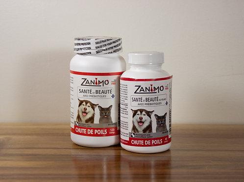 ZANIMO- Chute de poils : santé et beauté du pelage