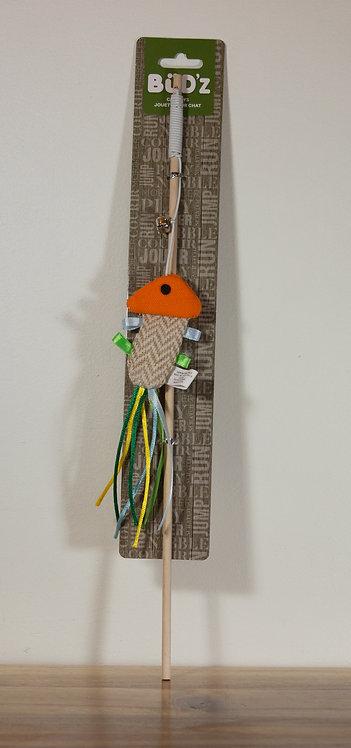BUDZ- Canne à pêche/ Poisson
