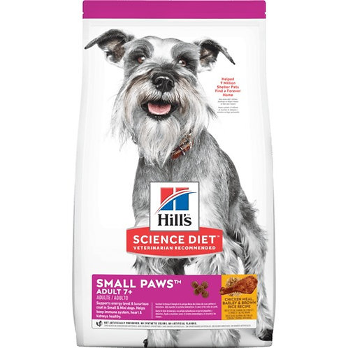 HILLS- Petites races 7+
