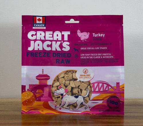 CANADIAN JERKY- Great Jack's gâteries lyophilisées Dinde