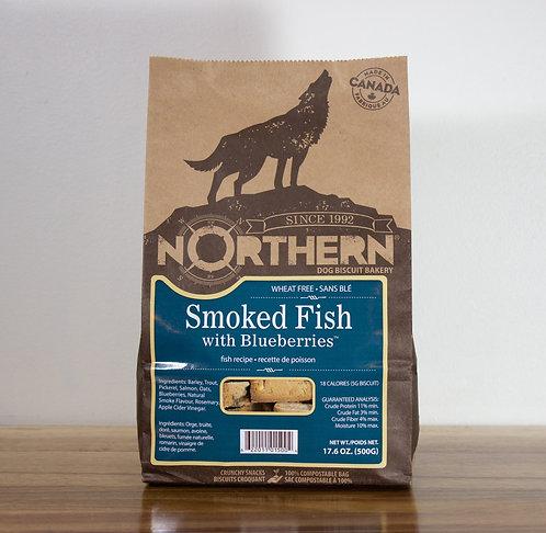 NORTHERN- Poisson fumé et bleuets