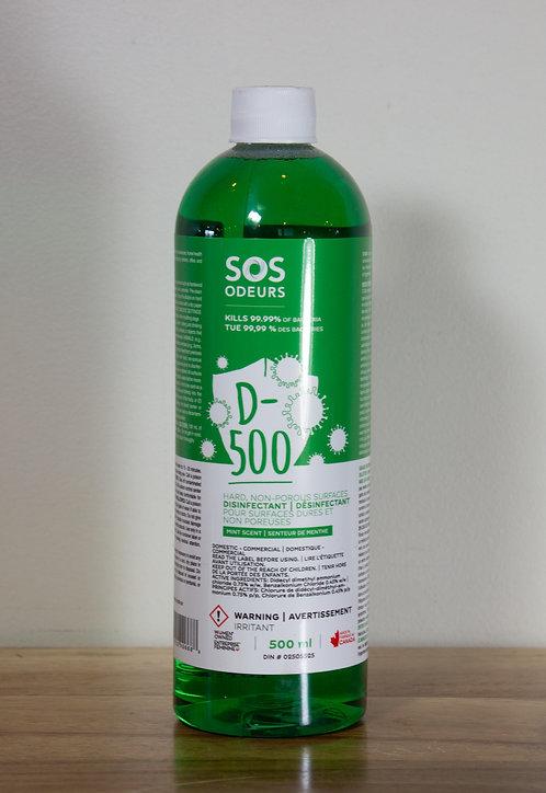 SOS ODEURS- D-500 500ml