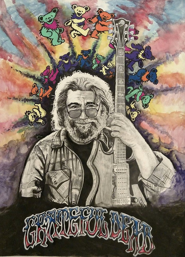 jerry_garcia_pencil__watercolor_ink_by_b