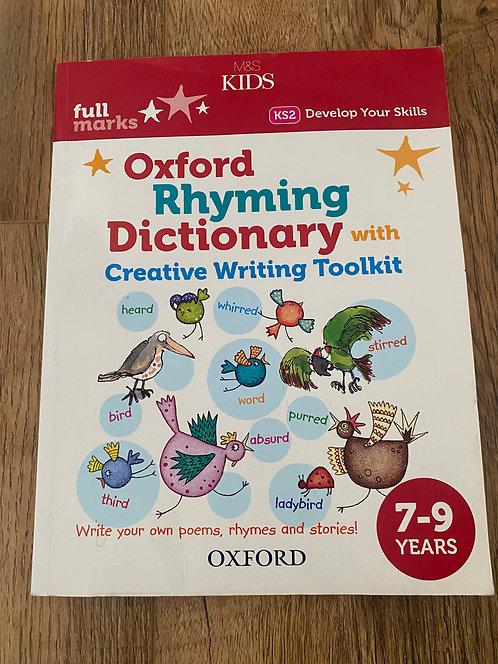 Oxford rhyming dictionary KS2