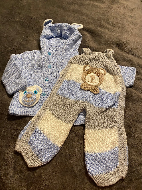 0-3 handmade knitted bundle