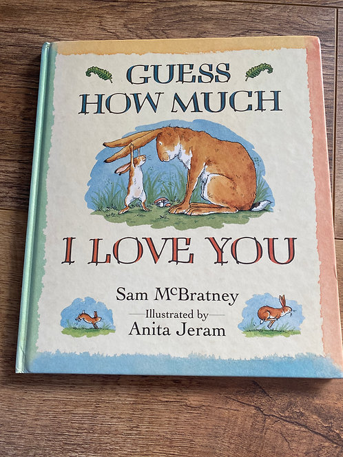 Guess how much I love you (large book)