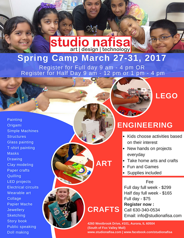 Spring Art Camp, Painting, LEGO, Maker
