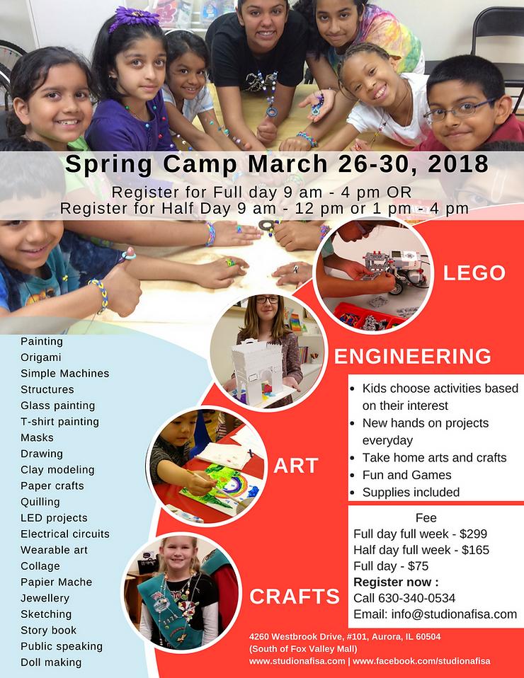 Spring Art Camp for kids, STEAM, STEM camp, Painting, LEGO, Maker, Engineering, Crafts