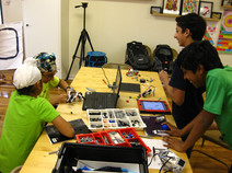 Designing Robots with Legos