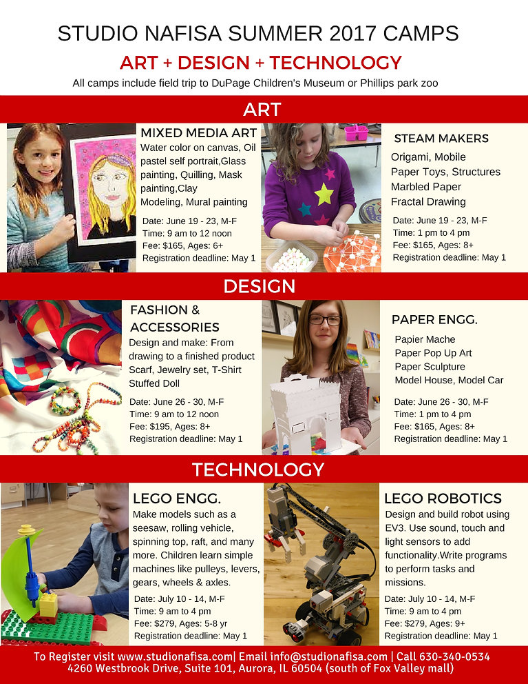 Summer Art Camp, STEM Camp, STEAM Camp, Painting, LEGO, Maker, Engineering camps for kids