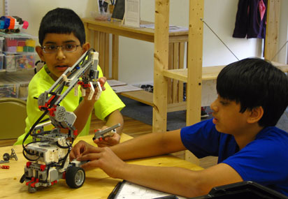LEGO Robotics in action