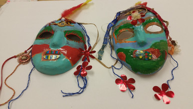Mask making and decorating