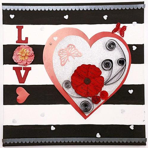 Art from the Heart - Mixed Media Kit