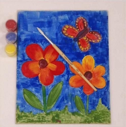 Canvas Panel Painting Kit