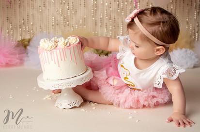 Cake Smash - Chilliwack and Abbotsford Children's Photographer